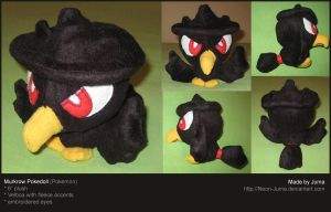 Murkrow pokedoll