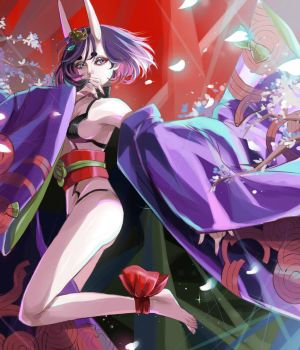 Shuten Douji by Princess--Ailish