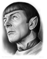 USS Enterprise First Officer Spock by gregchapin
