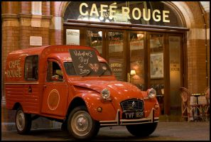 Cafe Rouge by Scuzi