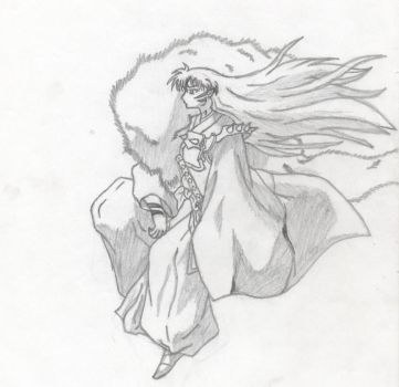 Sesshomaru by Aergonia