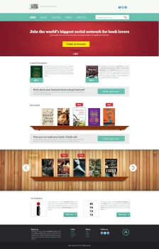Skoob website by luciano-infanti