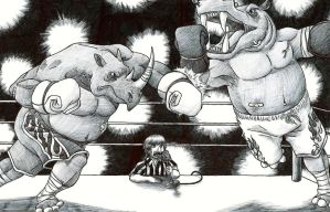 The Fight of the Century by johnnylam