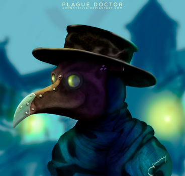 Plague Doctor - Fundo by JhonnySilva