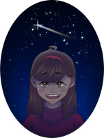 Why do stars fall down from the sky - Mabel pines by Choco-Nymbus