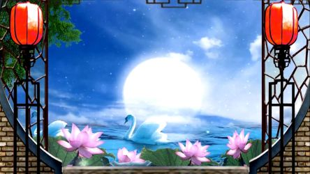 Classic lotus pond Pond Chinese wind fantasy Live  by AngeliaBaby