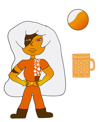 Wheat Beer Jasper with Gem and Weapon [Updated] by AuroraMisa
