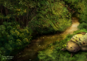 My neighbor Totoro by DreamThestral