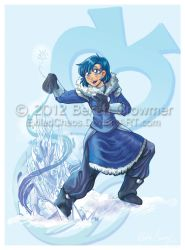 Sailor Avatar: Waterbender Ami by ExiledChaos