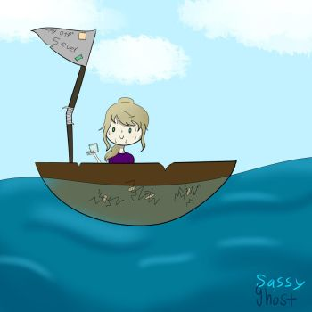 Going Down With My Ship by SassyGhost