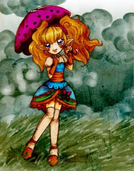 TP: Agitha's windy day by Kathisofy