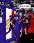 Amy Pond and the Gotham City Gingers by micQuestion