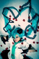 Hatsune Miku - vertical/lacitrev by maria-neige