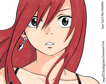 Erza Copic by ScarletCB1999