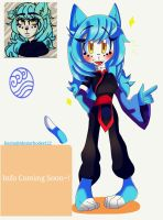 (New Character!) Kimi The Water Cat by Coffee-Karin