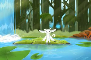 Ori and the blind forest : Thornfelt swamp by Thebravegirl