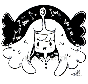 Day 15_INKTOBER 2015 [Princess Bubs] by ONEIRI