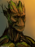 I am Groot by encune