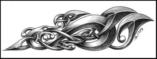 55e6e7a02 Celtic Sleeve Celtic Dragon V1 4 By Roblfc1892 Deviantart Com Dragon: Celtic  Tattoo Designs By Roblfc1892 On ...