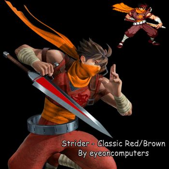 MVCI: Strider - Classic Red/Brown (v2) - C4 by eyeoncomputers