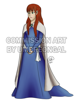 Commission: Sasha Elinov by LizDoodlez
