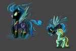 The Equestria Bestairy Project: Shadowbolts by RyuRedwings