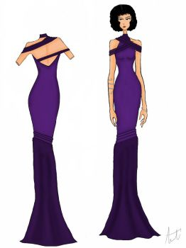 Dress Design 3 by AmourReveurBelle