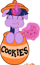 The Adorkable Cookie Monster by FilPaperSoul
