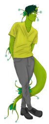 .:Green, Green, And More Green:. by nightmareantagonist