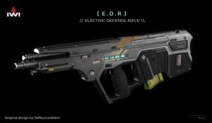 Electric Defense Rifle [ Tavor Frame ] by BoldCat