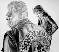 Sons of Anarchy by Draw4u