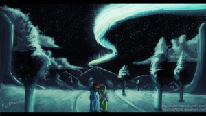 Northern lights by Col762nel