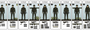 Mislauan Infantry Squad by hydraulicoilman