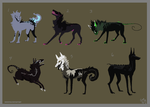 Canine adopts [CLOSED] by Immonia