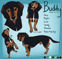 Buddy Reference by CanisPitbull