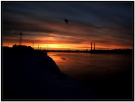 Dublin Bay in the morning by Neo--Art