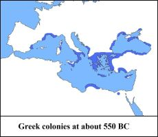 Greek Colonies - Map by CaptainVoda