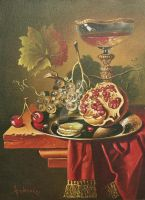 Half of pomegranate for you by dusanvukovic