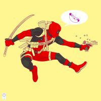 Sideview Sunday Deadpool by e-carpenter