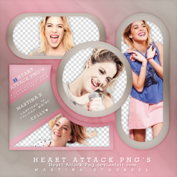 +Pack PNG Martina Stoessel by ThatLove