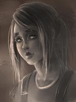 ELLY The Last of Us fanart by SolncevaSol
