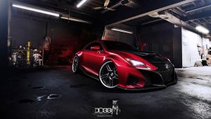 Lexus Rc-f by blackdoggdesign