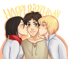 Happy Birthday Eren by cambrasine