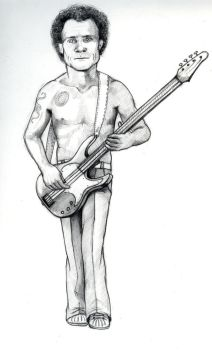 flea rhcp by saravukmirovic