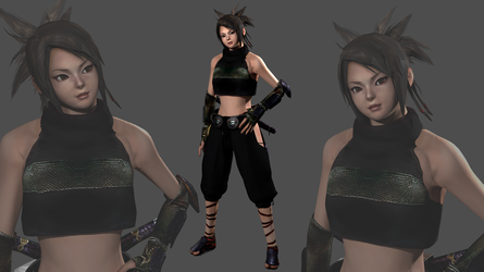 Ayame Retextured release by OTsunaO