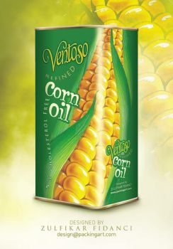 Ventoso CornOil Packaging by byZED