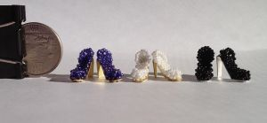 Miniature High Heels by pinkythepink