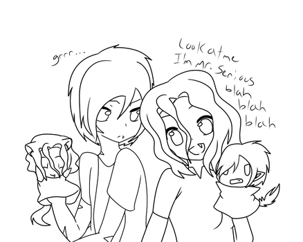 Were-Siblings- I can make you sound annoying! by Dark-Videogamer