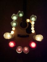 The Candle-Lit Guitar by SoLaCePaRoXySM