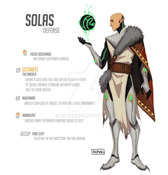 Dragonwatch Solas by nipuni